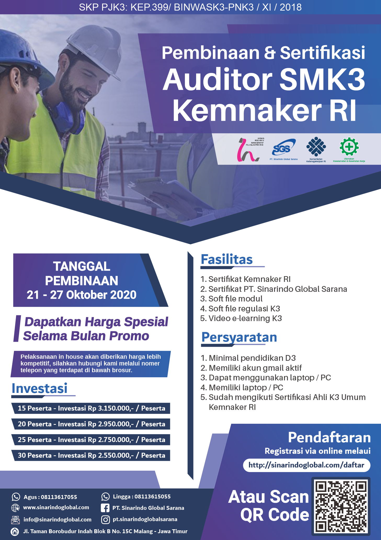 Sertifikat Auditor SMK3 ( 006_Amarullah Muhammad )