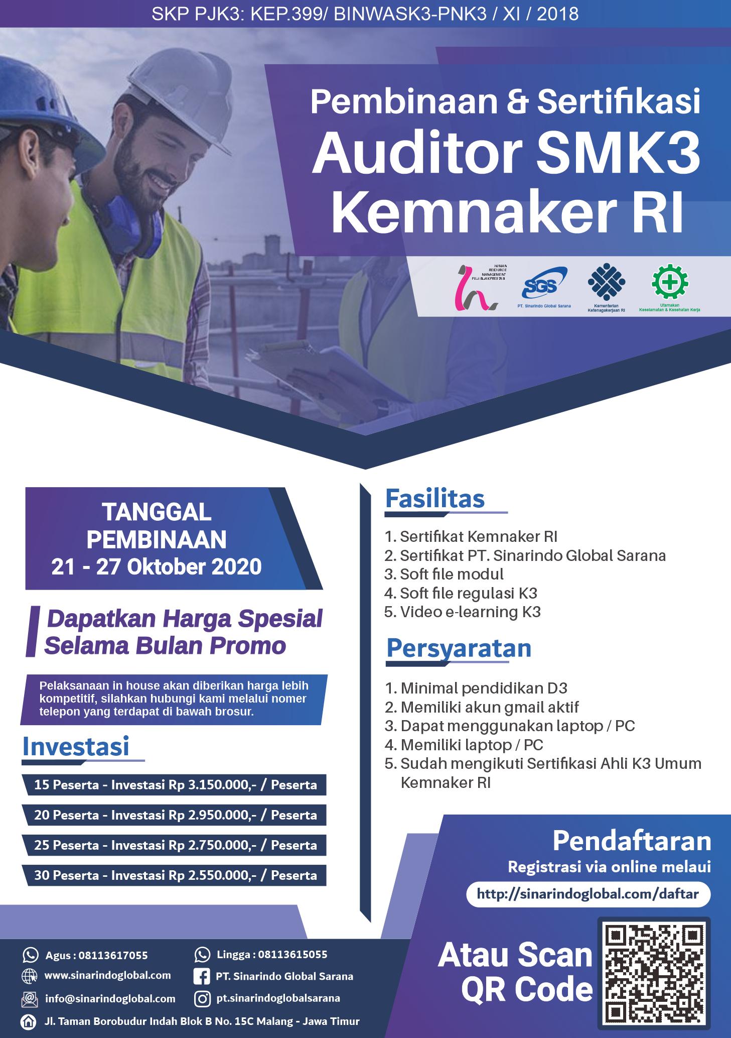 Sertifikat Auditor SMK3 ( 013_Heri Misbah Dijaya )
